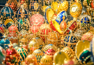 Return of Faberge Eggs to Russia